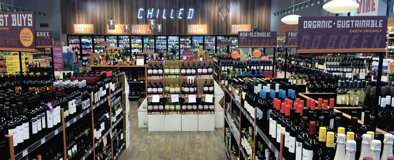 liquor store statistics sales