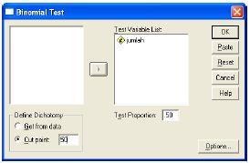 Penjelasan Uji Binomial dan Contoh Test dengan SPSS