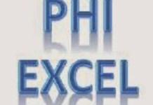 Uji Phi dengan Excel