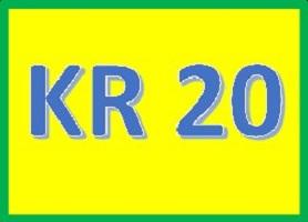 Rumus KR 20 Dan Tutorial Cara Hitung Dengan Excel