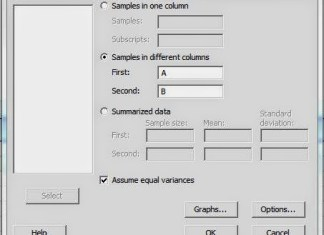 Tutorial Cara Uji Independen T Test dengan Minitab