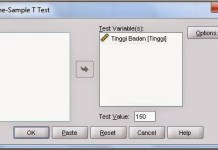 Student T Test SPSS