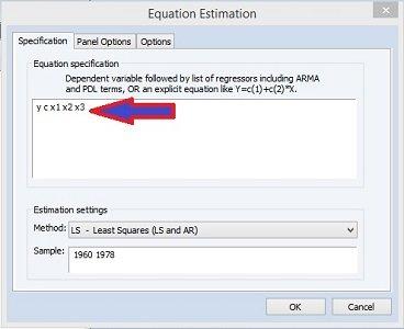 Common Effect Regresi Data Panel dengan Eviews