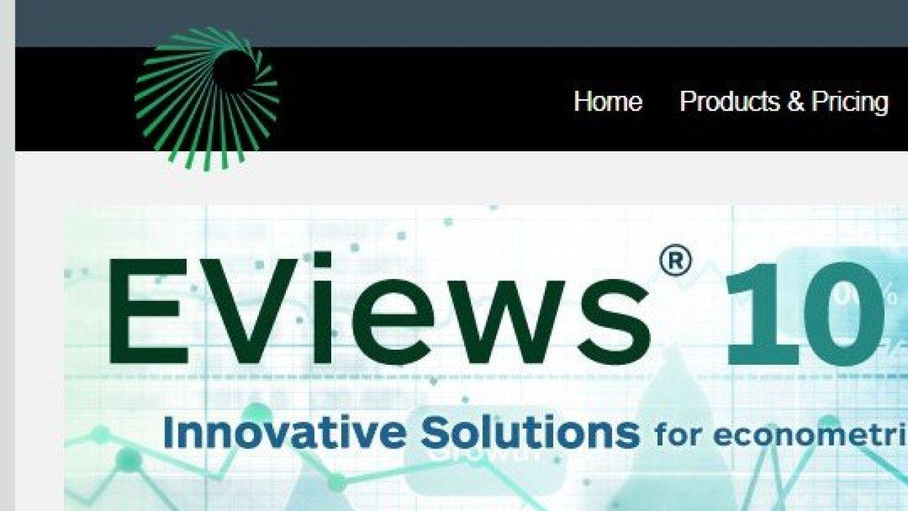 Pengenalan Eviews dan Download Eviews Versi Terbaru – Uji