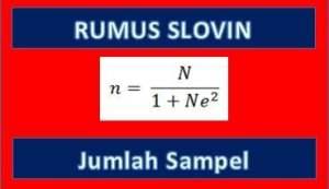 Rumus Slovin