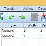 cara membuat f tabel lengkap