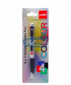 Cello 4 Colour Ball Pen 4 IN 1 by StatMo.in