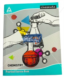 Classmate Practical Notebook Chemistry 132 Pages by StatMo.in
