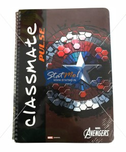 Classmate Pulse 1 Sub Spiral Notebook 180 Pages by StatMo.in