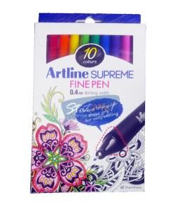 Artline Supreme Fine Pen 10 Shades by StatMo.in