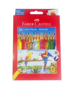 Faber Castell Colour Pencils 36 Shades by StatMo.in