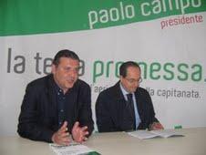 Il segretario provinciale del Pd, Paolo Campo