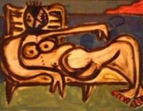 Arte-immagine d'archivio, mostra Genova 'trepieces'