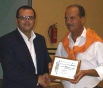 Nella foto Michele Princigallo (consigliere regionale Fip) e Pasquale dell'Aquila (Presidente Fip Foggia)