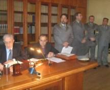 Conferenza Stampa nella Procura della Repubblica di Lucera (image by G.de Filippo)