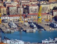 La Spezia (immagine d'archivio-ammiraglia 88)