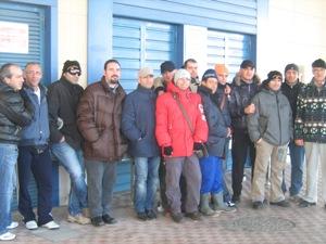 I rappresentanti delle cooperative Ancora e Adriatica di Manfredonia