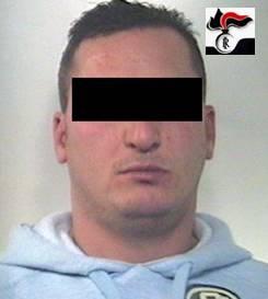 L'arrestato Leonardo Montani