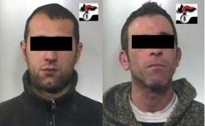 I due arrestati (image Stato 2010)