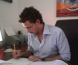 L'avvocato di Lucera Luca d'Apollo (Resp.legale Adiconsum Lucera)