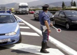 Polizia stradale (immagine d'archivio)