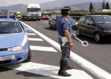 Polizia stradale, immagine d'archivio