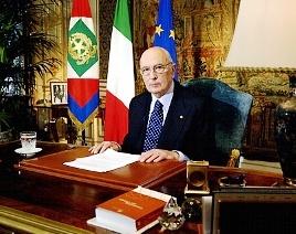 Il presidente Giorgio Napolitano (www.impresamia.com)