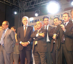 Rappresentanti Pdl durante le passate elezioni regionali (Foggia)