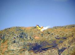 Canadeir in azione nella contrada Pace di Manfredonia (image Stato)