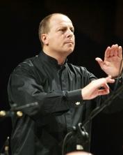 Il direttore musicale dell'ultima serata di Alma Mater, Luciano Di Giandomenico