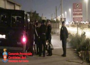 Controlli straordinari anti-prostituzione, Bari