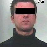 L'arrestato Vito Corda (Stato)