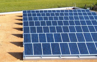 Impianto fotovoltaico a Borgo Mezzanone, immagine d'archivio