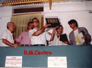 Radio Manfredonia Centro, premio dieci anni di attività (fonte image: Manfredonia.net)