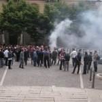 I tifosi del Foggia in apprensione per il futuro della società (immagine d'archivio)