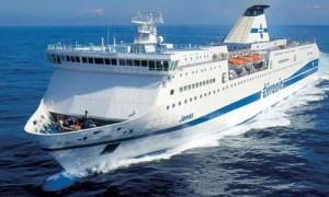 Traghetto Tirrenia (immagine d'archivio)