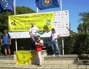 La premiazione di Davide Guerra, atleta di Manfredonia
