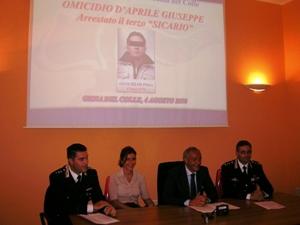 La Conferenza stampa in Procura della Rep. a Bari
