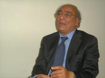 L'amministratore unico di Sanitaservice, A. Di Biase (Copyright STATO)