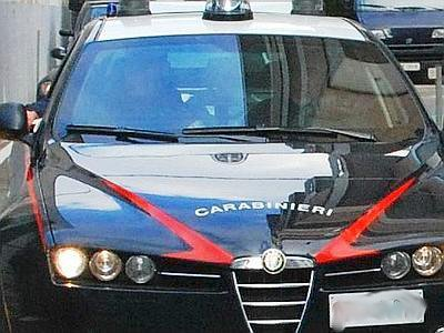 Controlli carabinieri (STATO@) immagine d'archivio