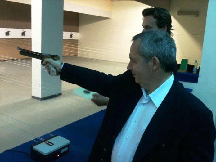 L'ex sindaco di Foggia Gianni Mongelli (st)