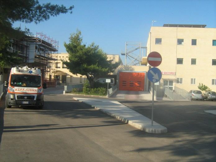 Immagine d'archivio - Un'ambulanza del servizio 118 di Manfredonia; (stato@ - immagine non riferita al testo)