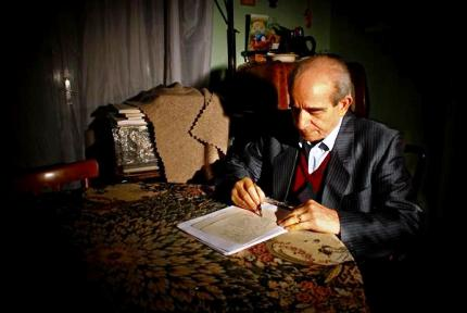 Il poeta, scrittore, autore Cristanziano Serricchio (Ph: Salvatore Favia@tutti i diritti riservati)