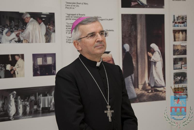 Monsignor Michele Castoro, Arcivescovo Arcidiocesi Manfredonia-Vieste-San Giovanni Rotondo (MF-CM)