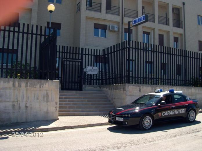 Carabinieri Vico del Gargano (statoquotidiano2@13)