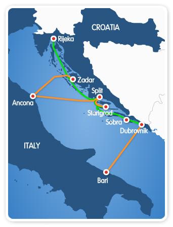Italia Croazia Cartina.Italia E Croazia Gemellaggi E Cittadinanza Stato Quotidiano
