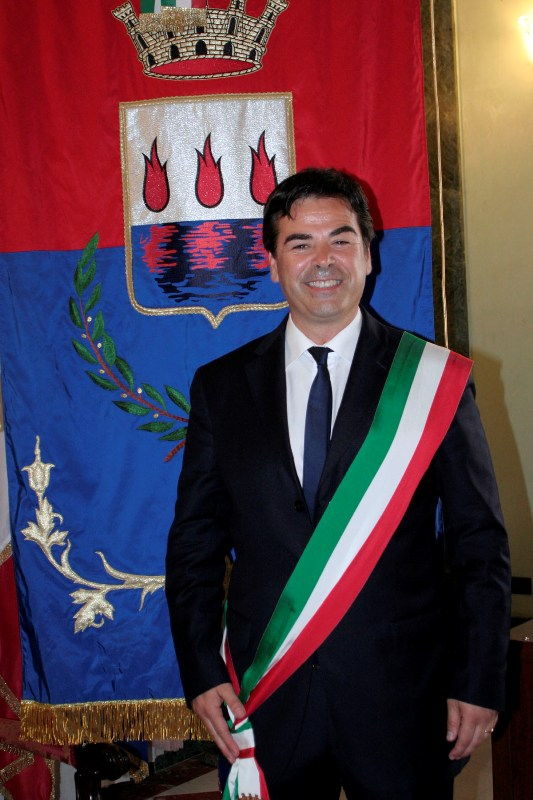 Il sindaco di Foggia Landella (PH: maizzi)