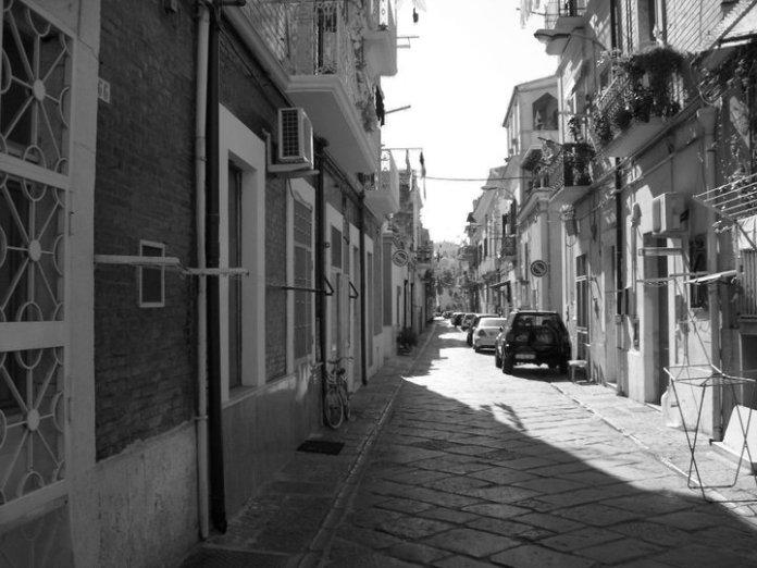 Quartieri settecenteschi Foggia - immagine d'archivio
