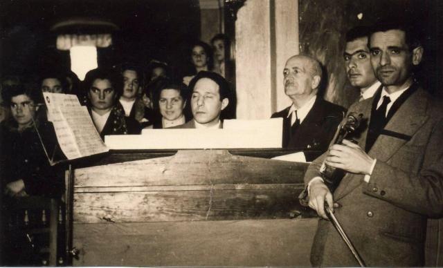 1952 - Messa in musica diretta dal M°Cherubino Salvatore Murgo