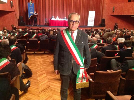 Il già sindaco di Monte Sant'Angelo Antonio di Iasio (st)